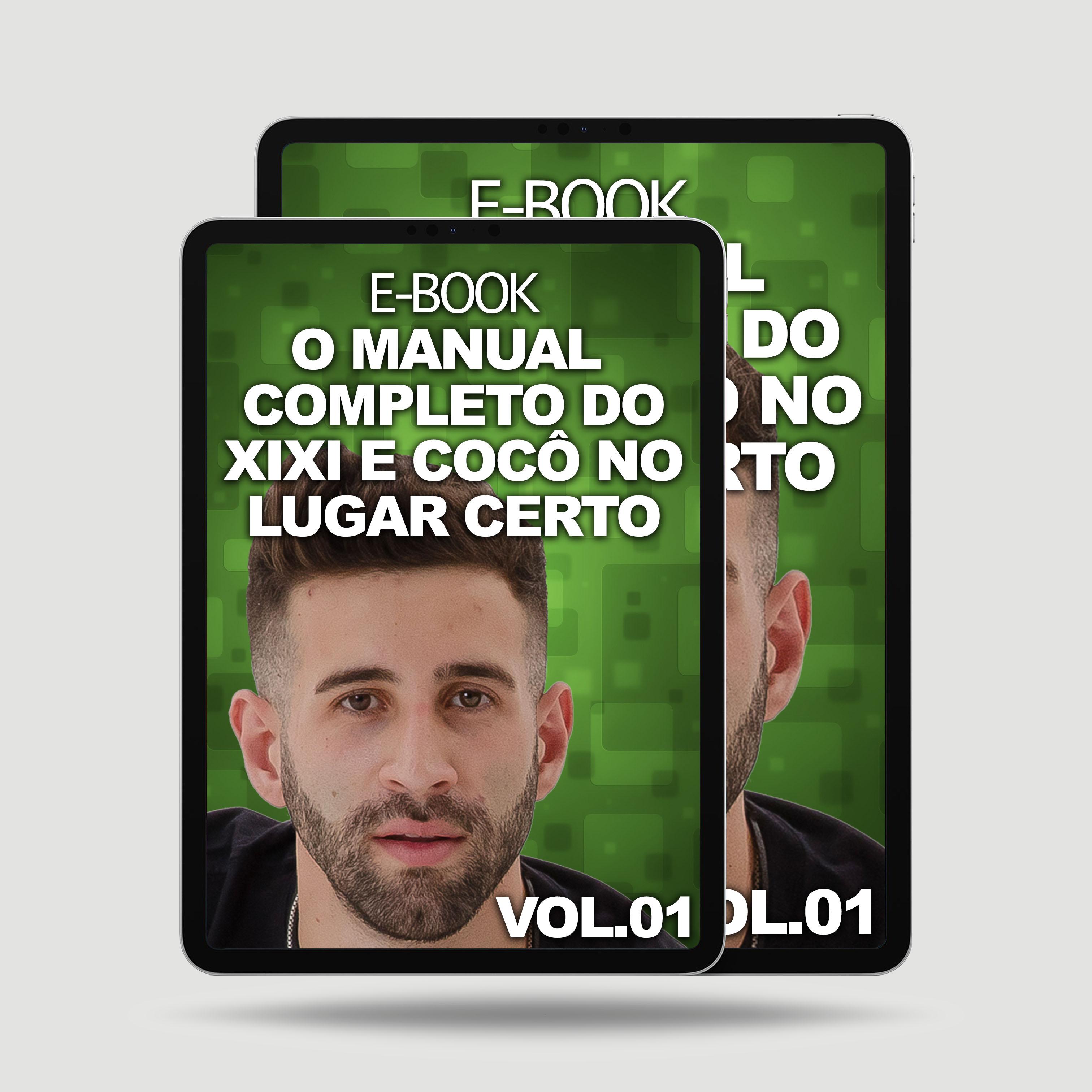 Imagem E-BOOK XIXI E COCÔ NO LUGAR CERTO