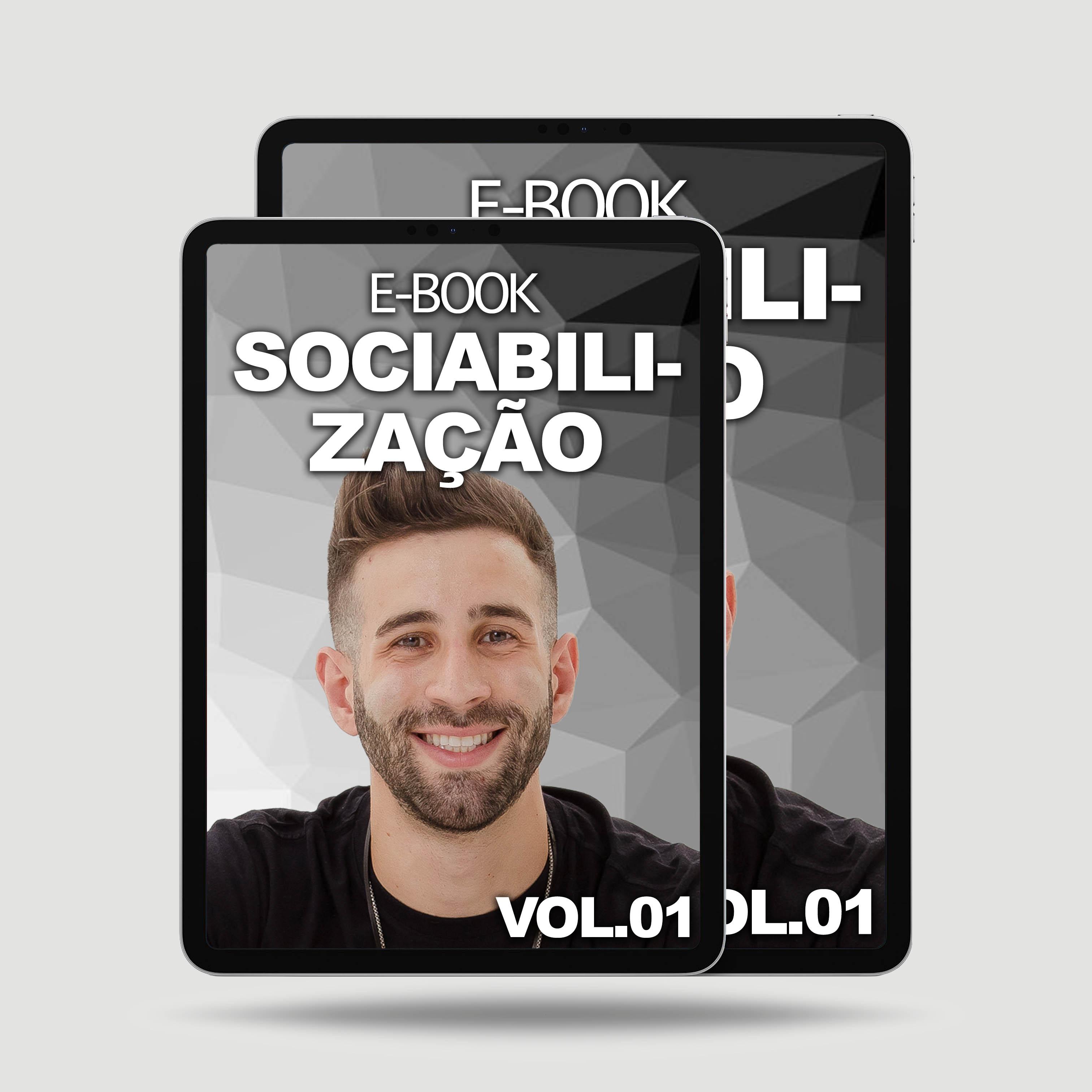 Imagem E-BOOK COMO SOCIABILIZAR O SEU PET