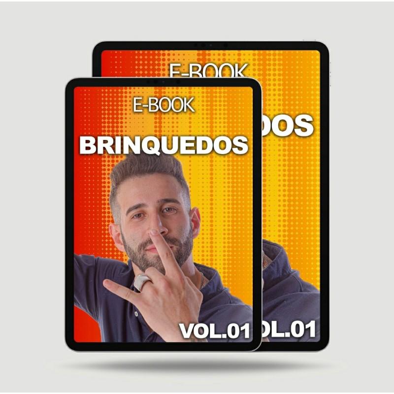 Imagem E-BOOK OS BRINQUEDOS IDEAIS PARA OS CÃES